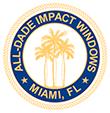 ALL-DADE IMPACT WINDOWS Logo