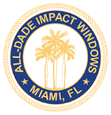 ALL-DADE IMPACT WINDOWS Logo